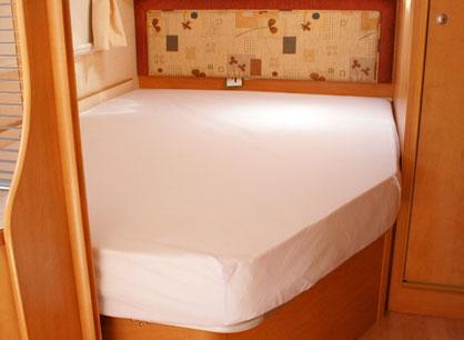 Topmatras Voor Caravan.Frans Bed Maatwerkmatrassen Nl Matras Op Maat
